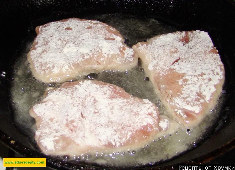 Отбивные со свинины рецепт с фото