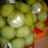 лечо из зеленых помидоров на зиму рецепты с фото