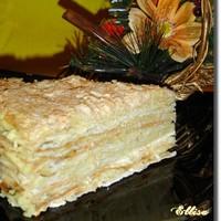 торт наполеон с заварным кремом классический