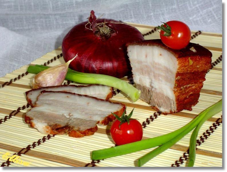Как солить сало с мясом в рассоле рецепт с фото пошагово