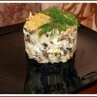 Салат яйца огурцы соленые картофель