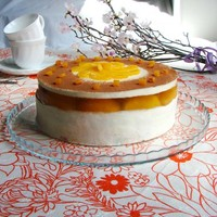 Торт Нежный персик