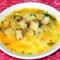 Картофельный суп-пюре из грибов