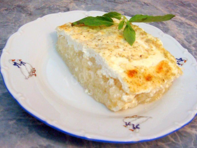 рисовый пудинг рецепт в духовке