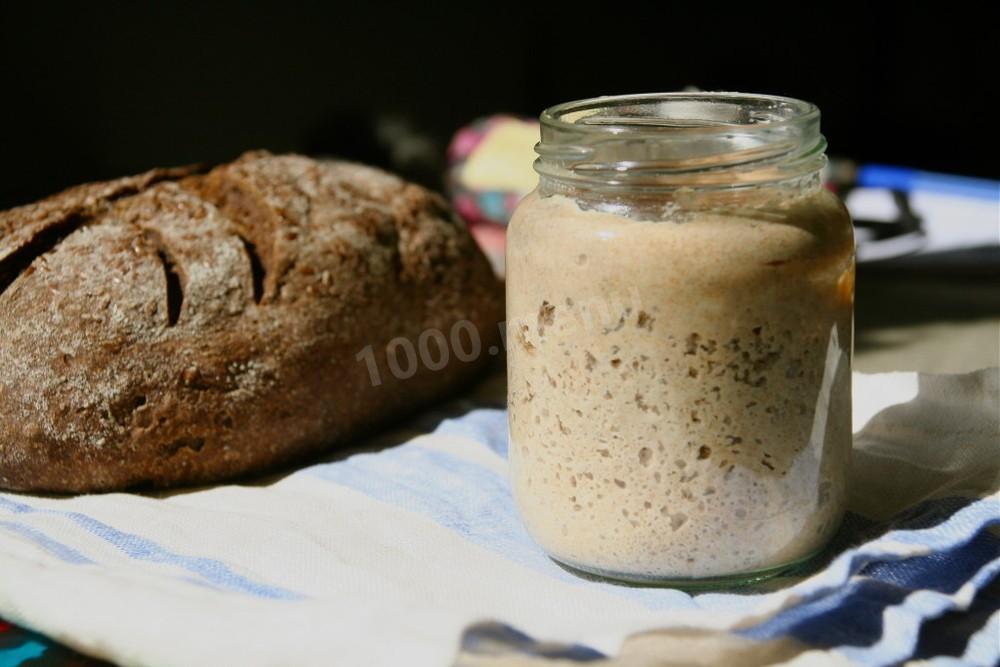 Закваска для домашнего хлеба рецепт