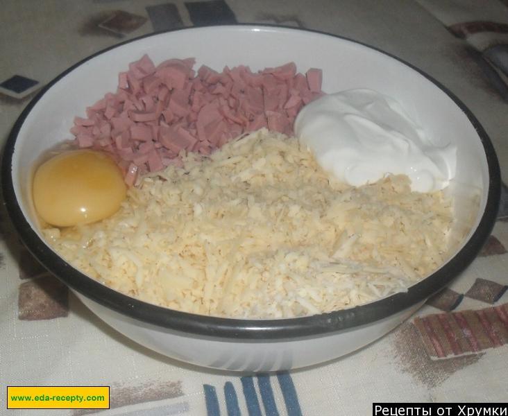 Котлеты из колбасы рецепт пошагово в