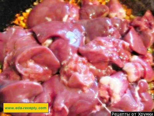 Печень куриная рецепты приготовления с майонезом