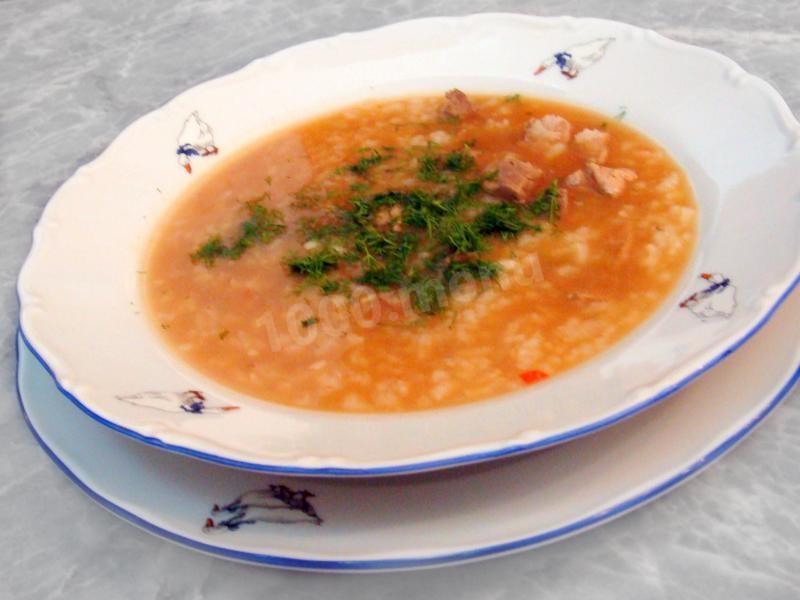 Как варить суп из свинины