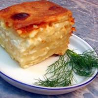 Ачма грузинская с сыром