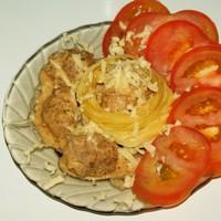 Тефтельки в томатно-сливочном соусе