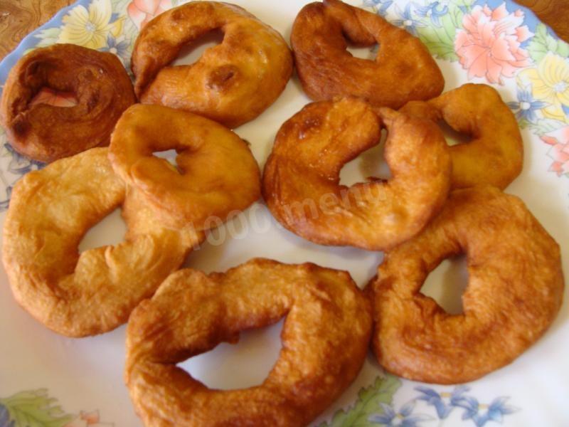 как приготовить пышные жареные пончики