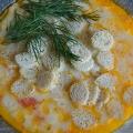 Сырный суп плавленный
