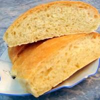 Хлеб чиабатта с кукурузной мукой