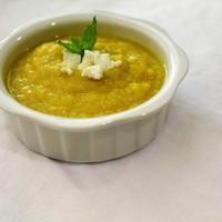 Суп-пюре с луком-пореем