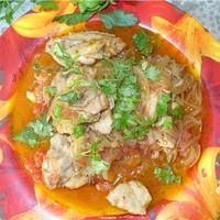 Чхртма суп из курицы