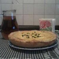Пирог с картофелем и грибами дрожжевой