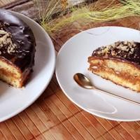Торт медовый бисквит