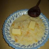 Тыквенная гарбузовая каша с рисом на молоке