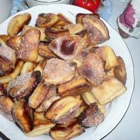 Песочное печенье на маргарине с творогом Поцелуйчики