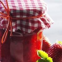 Клубничное варенье джем из лесной ягоды