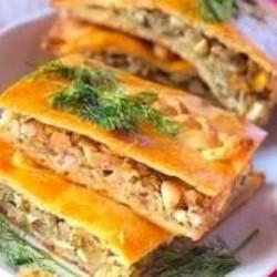 Быстрый капустный пирог рецепт пошагово в