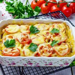 Картофель с сыром в духовке рецепты