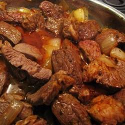 Второе из мяса