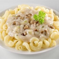 сливочная паста с грибами и беконом в сливочном соусе рецепт с фото