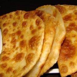 Лепешки с сыром и чесноком в духовке рецепт