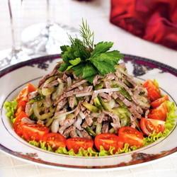 салат из мяса говядины рецепт