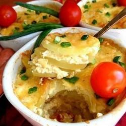Картофель по-французски с фаршем: пошаговый рецепт с фото 1