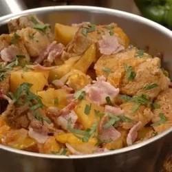тушеная капуста с мясом рецепт с фото в духовке