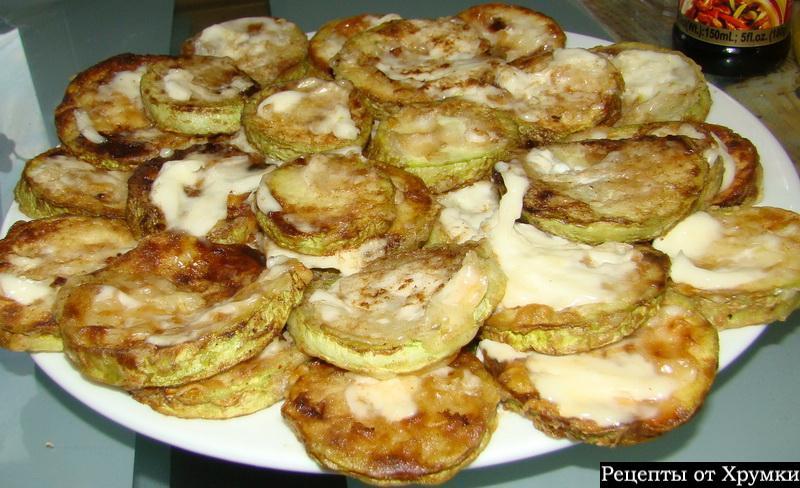 жареные кабачки с чесноком рецепт с фото в духовке
