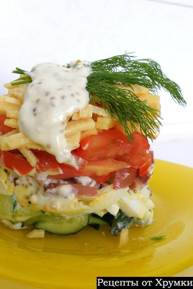Салат из баклажанов-холодная заеуска