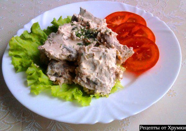 Печень говяжья строгановская рецепты