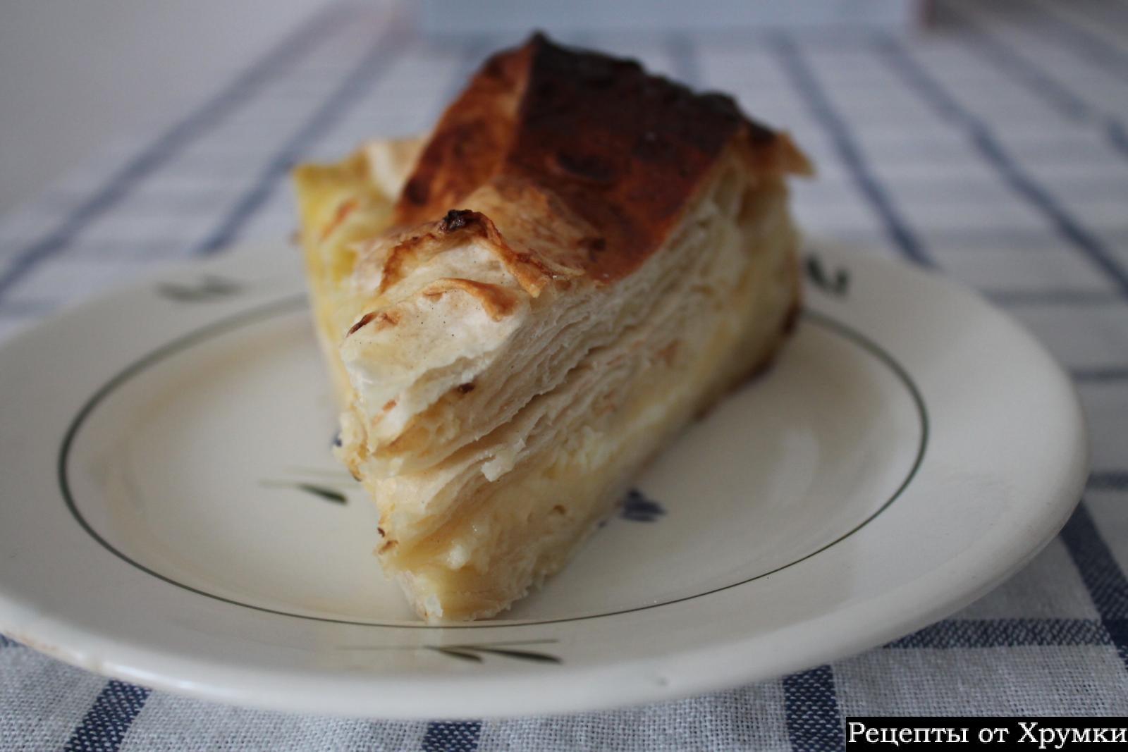Ачма с сыром и творогом рецепт