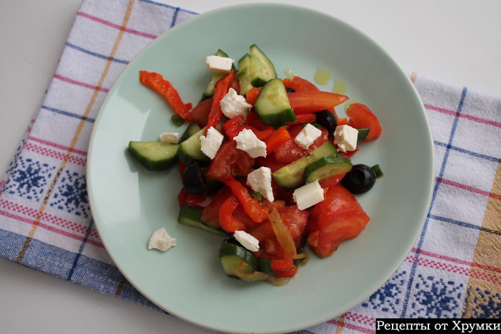 Рецепт салатов сладкий перец