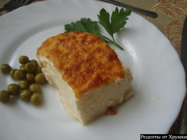 Рецепт омлета с рыбой как в детском саду