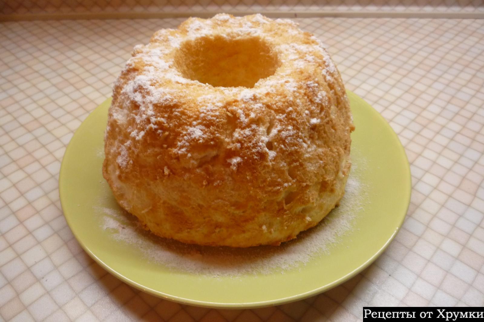 Ангельский бисквит рецепт пошагово в