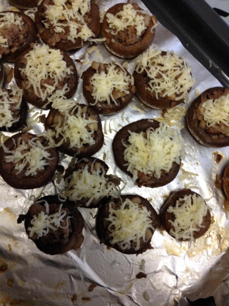 Грибы в духовке постные рецепт пошагово