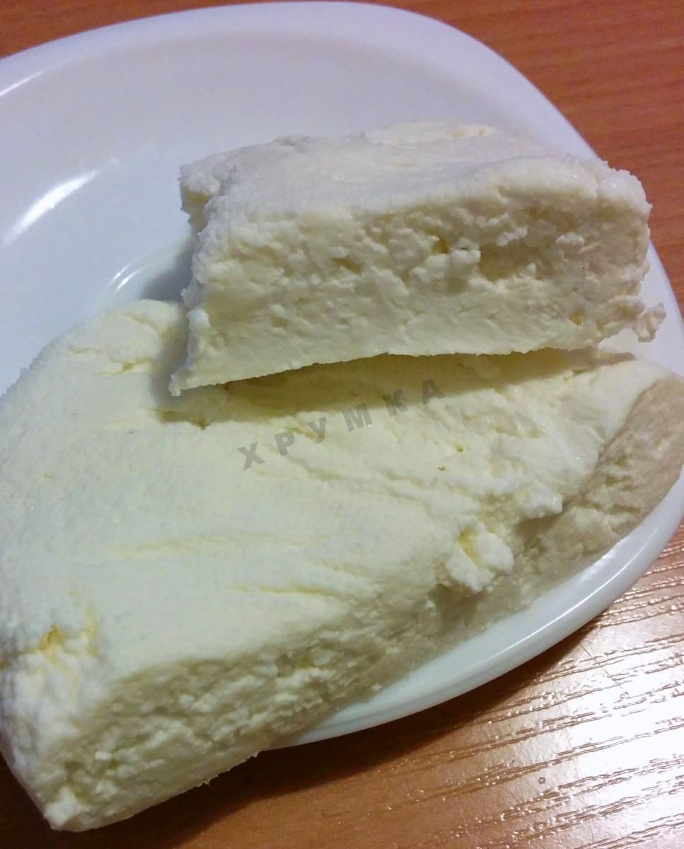 Домашний сыр из кефира и творога рецепт пошагово