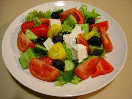 Салат с сыром брынза рецепт