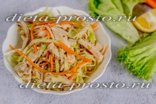 Вкусные и низкокалорийные салаты с фото