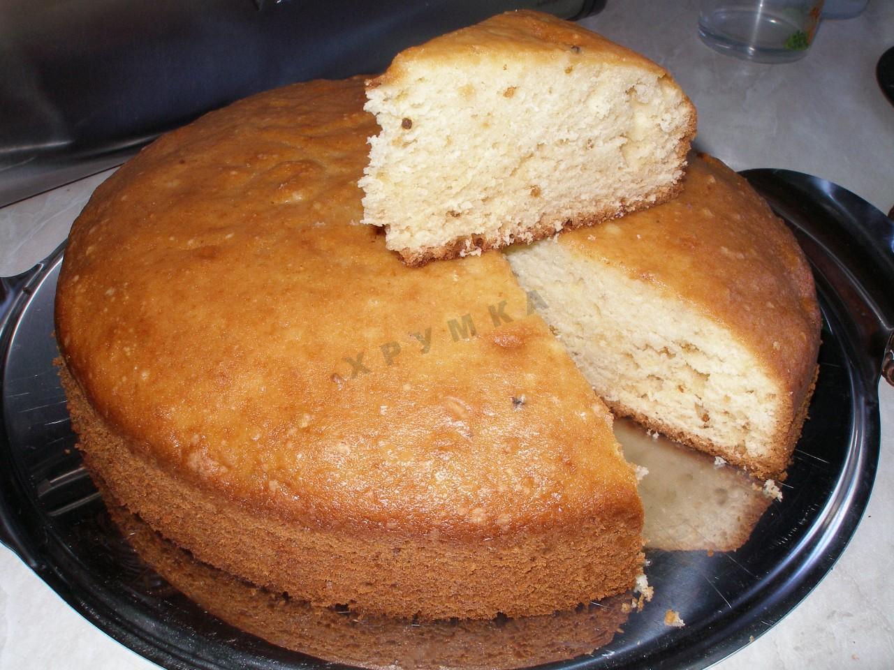 Рецепт воздушного пирога с творожной начинкой 5