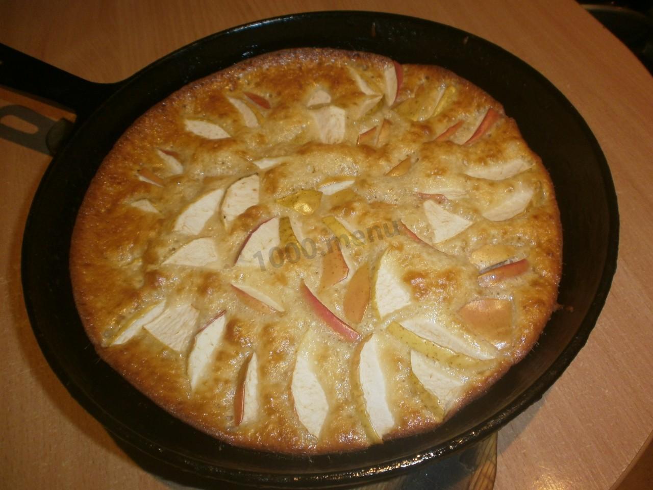 Творожное чудо с яблоками рецепт пошагово в духовке