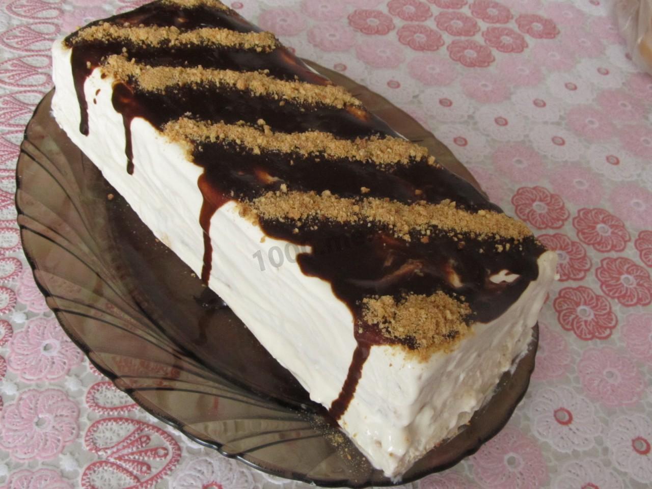 Торт полено в домашних условиях 430