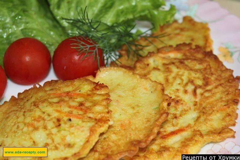 оладьи картошки рецепт фото пошагово